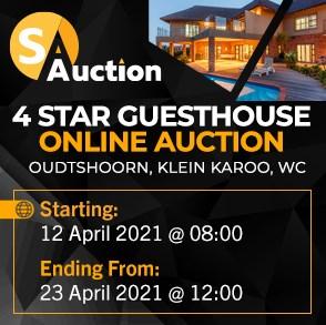4 Star Guesthouse - Oudtshoorn, Klein Karoo