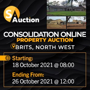 Consolidation Online Property Auction - Brits