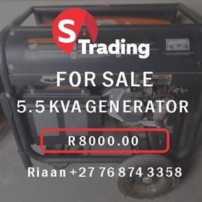 5.5 KVA Generator