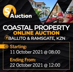 Coastal Property Online Auction - KZN