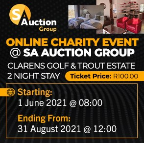 Online Charity Event @ SA Auction Group: Clarens Golf and Trout Estate 2 Night Stay