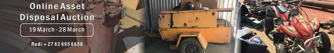 Online Asset Disposal Auction - Loose Assets