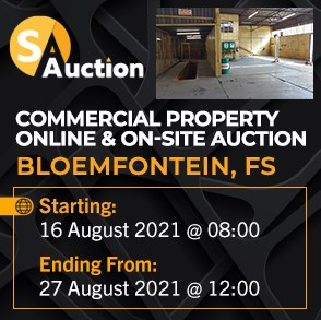Commercial Property Online & On-Site Auction - BFN
