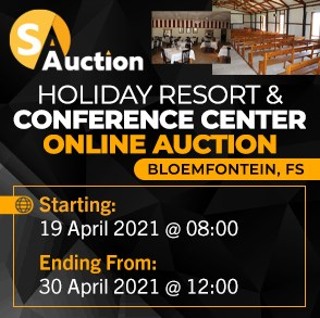 Holiday Resort & Conference Center Online Auction - Bloemfontein