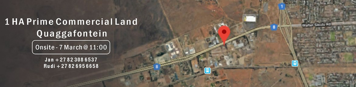 1 HA Prime Commercial Land