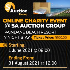 Online Charity Event @ SA Auction Group: Mozambique Paindane Beach Resort 7 Night Stay