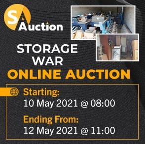 Storage War Online Auction