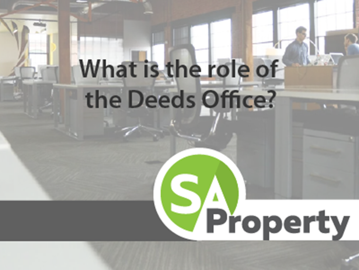 What is the role of the Deeds Office?