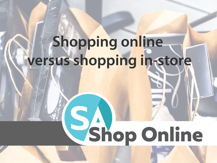 Shopping online versus shopping in-store