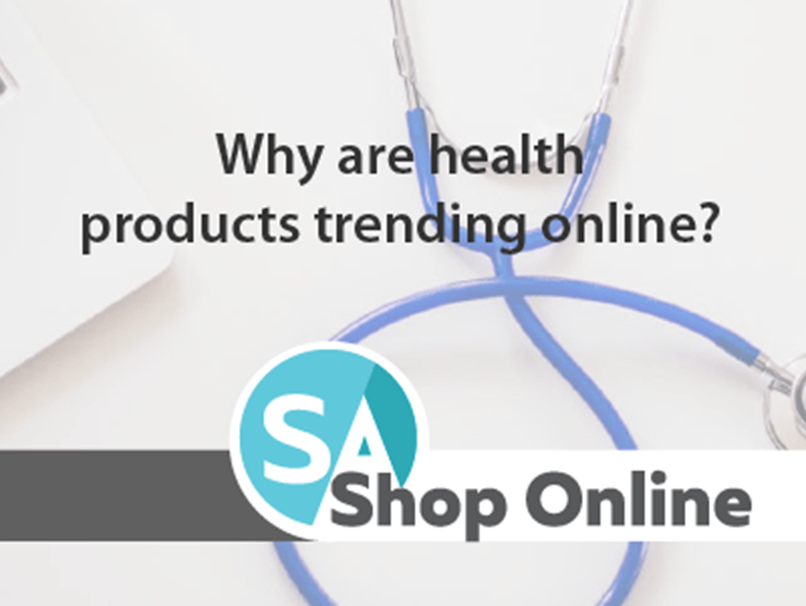 Why are health products trending online?