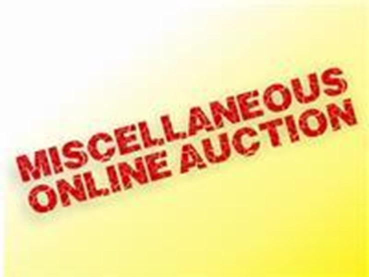MISCELLANEOUS ONLINE AUCTION
