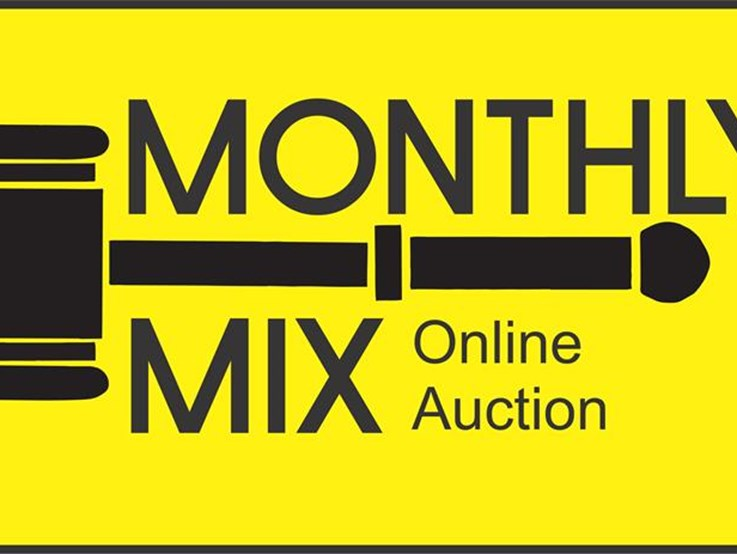 Monthly Mix Online Auctions gets all involved