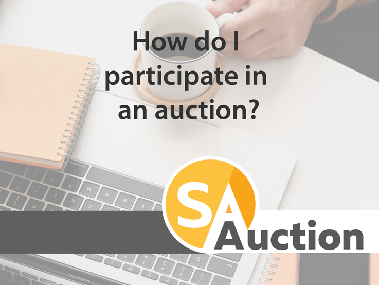 How do I participate in an auction?