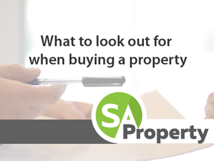 What to look out for when buying a property