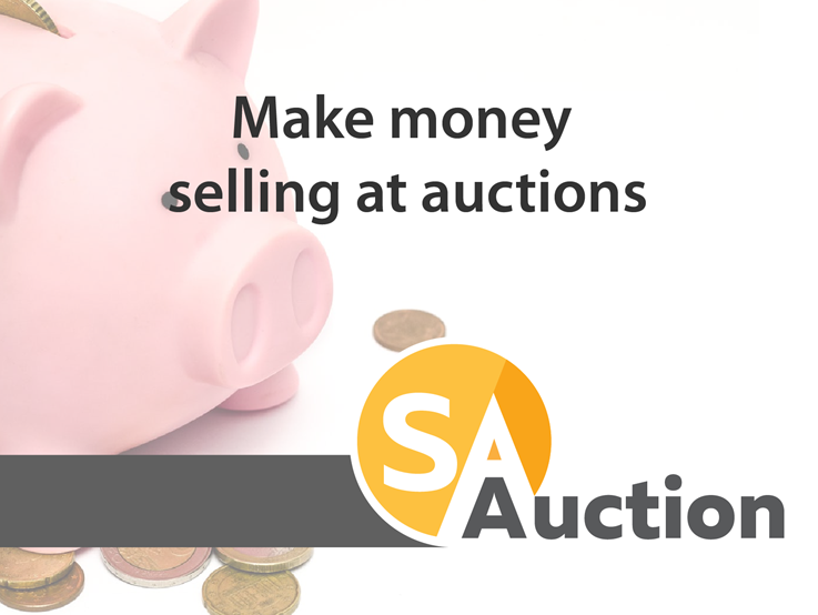Make money selling at auctions