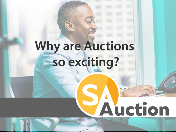 Why are auctions so exciting?