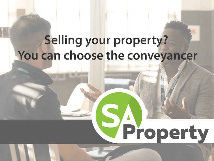 Selling your property? You can choose the conveyancer
