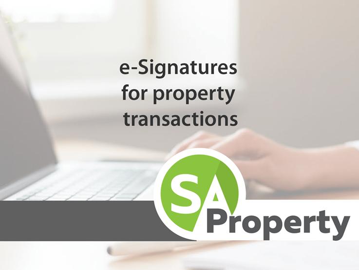 e-Signatures for property transactions?