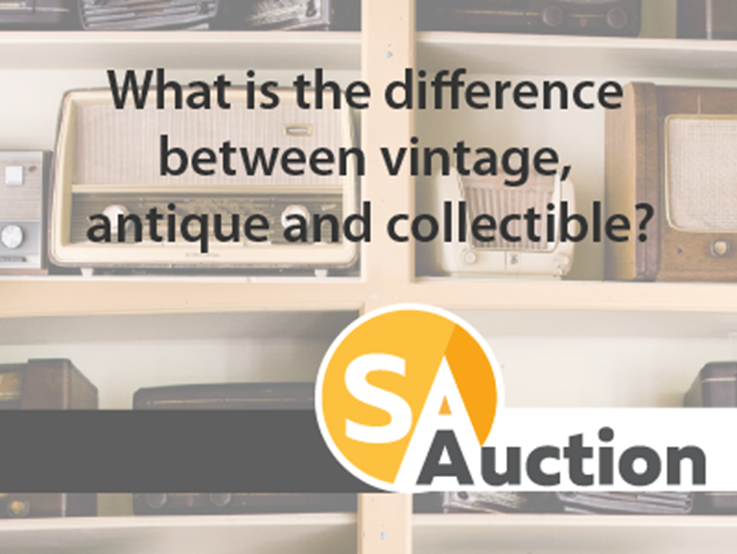 What is the difference between vintage, antique and collectible?