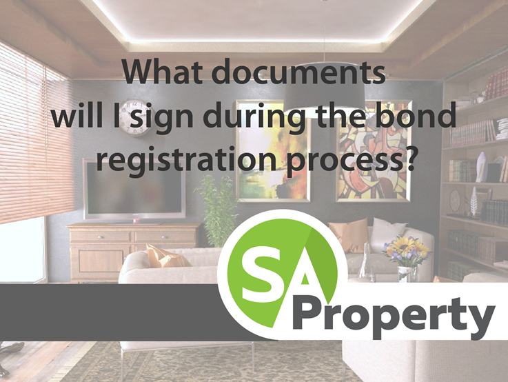 In a nutshell, what documents will I sign during the bond registration process?