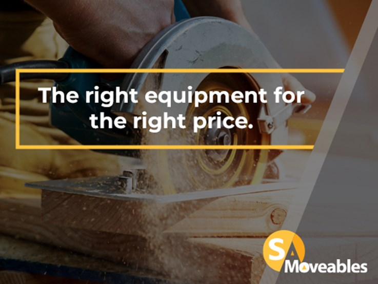 The right equipment for the right price.