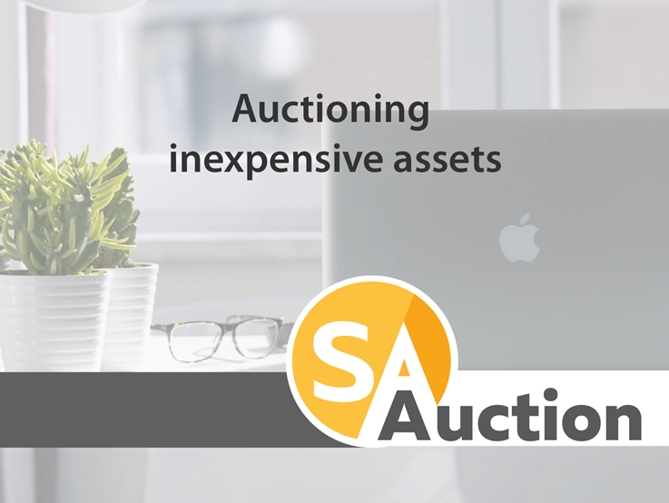 Auctioning inexpensive assets