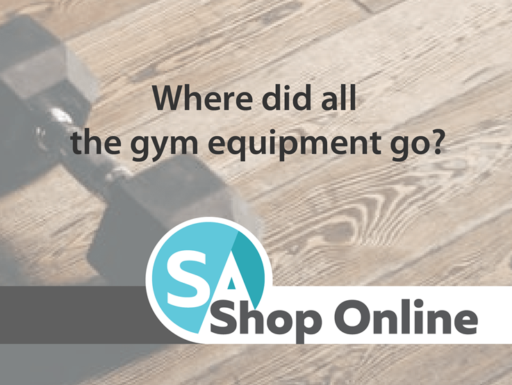 Where did all the gym equipment go?