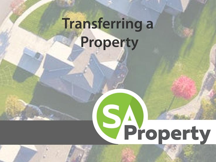 Transferring a property