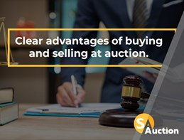 Clear advantages of buying and selling at auction