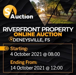 Riverfront Property Online Auction - Deneysville