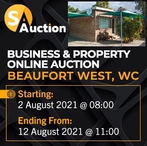Business & Property Online Auction - Beaufort West