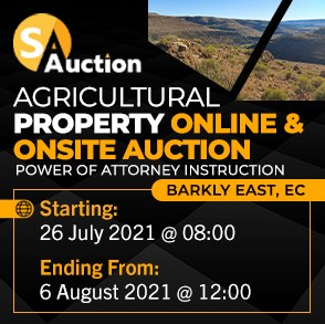 Agricultural Property Online & On-site Auction - Barkley East
