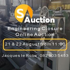 ENGINEERING CLOSURE ONLINE AUCTION (VEREENIGING)