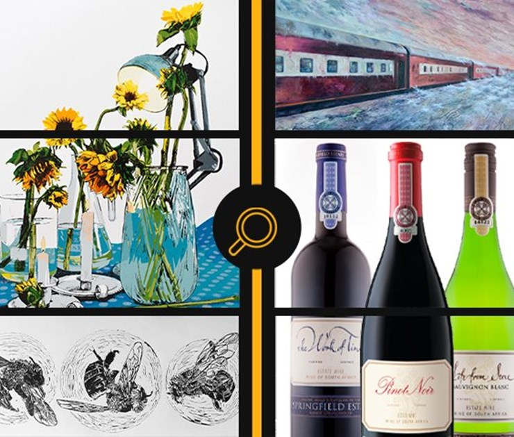 ONLINE FUNDRAISING AUCTION ON BEHALF OF SOUTH AFRICAN INSTITUTE OF ARCHITECTS, FS