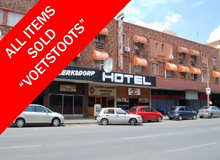 VARIOUS INSTRUCTIONS PROPERTY AUCTION KLERKSDORP (KLERKSDORP HOTEL, N12 DEVELOPMENT LAND, BUSINESS PREMISES, ± 940 HA FARM)