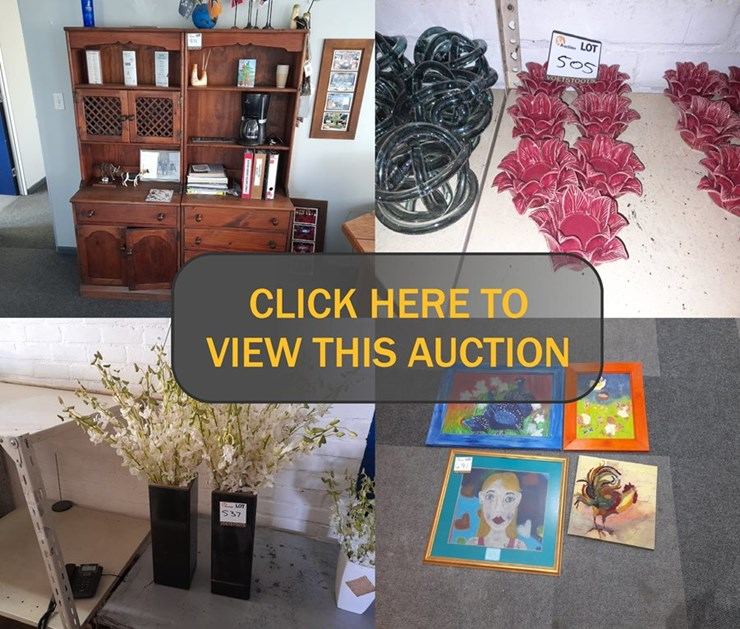 DAY 3 - EVENTS, DECOR & ACCESSORIES CLEARANCE ONLINE AUCTION (DIVISION CLOSURE)