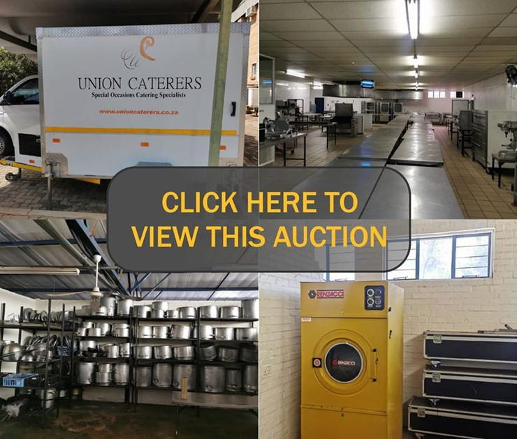 DAY 1 - MASSIVE CATERING DIVISION CLOSURE ONLINE AUCTION: UNION CATERERS