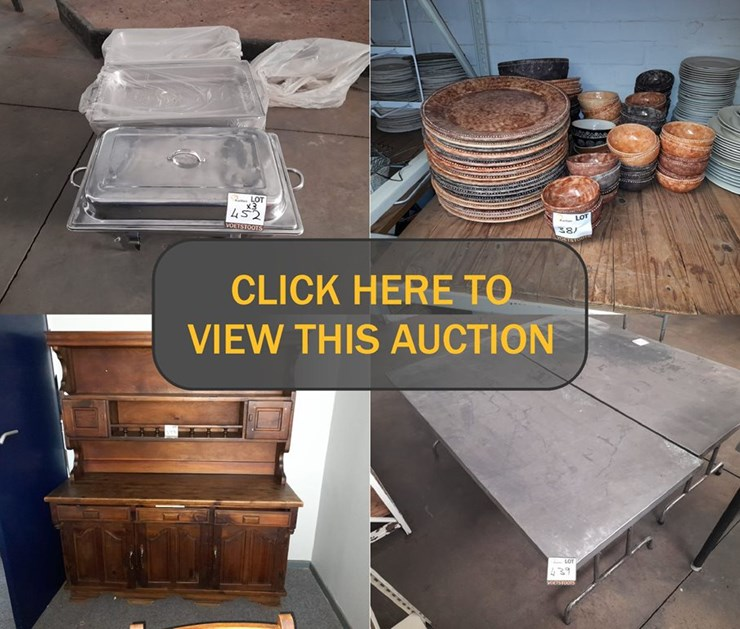 DAY 4 - MASSIVE CATERING DIVISION CLOSURE ONLINE AUCTION: UNION CATERERS
