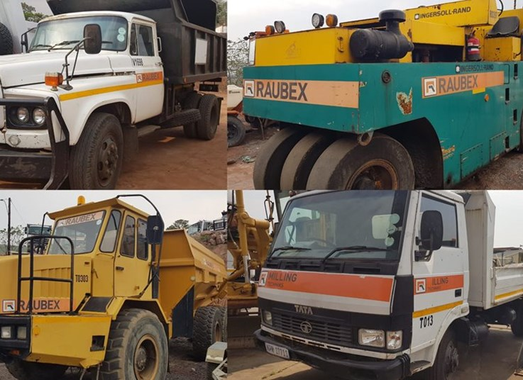 Specialized Equipment Online Auction - Mining & Construction