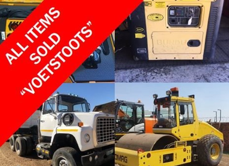 DAY 2: SEPTEMBER MINING, CONSTRUCTION & AGRICULTURE ONLINE AUCTION