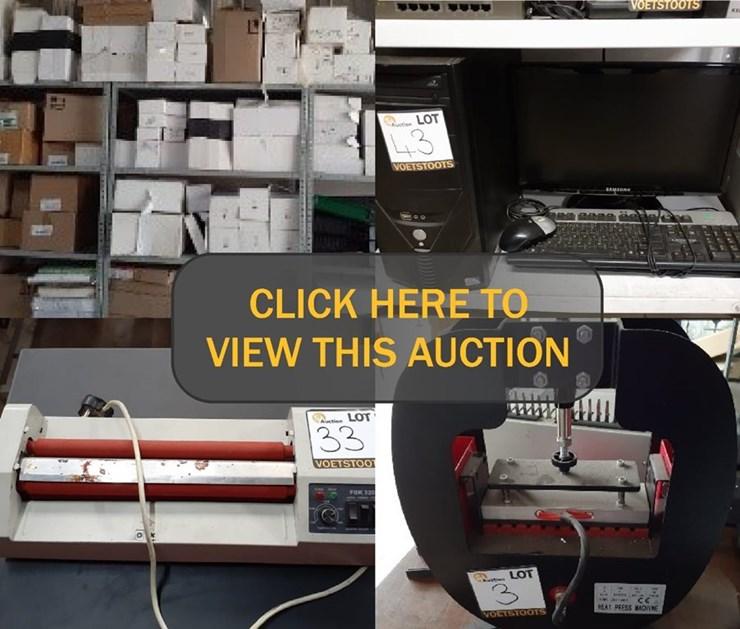 PRIVIMATE LIQUIDATION ONLINE AUCTION (MASTER REF G820/2020)