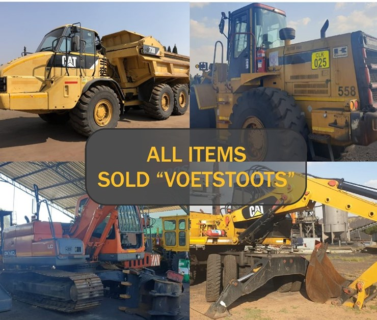 COMPLETION OF CONTRACTS: MD PLANT - REDUNDANT EQUIPMENT & MACHINERY