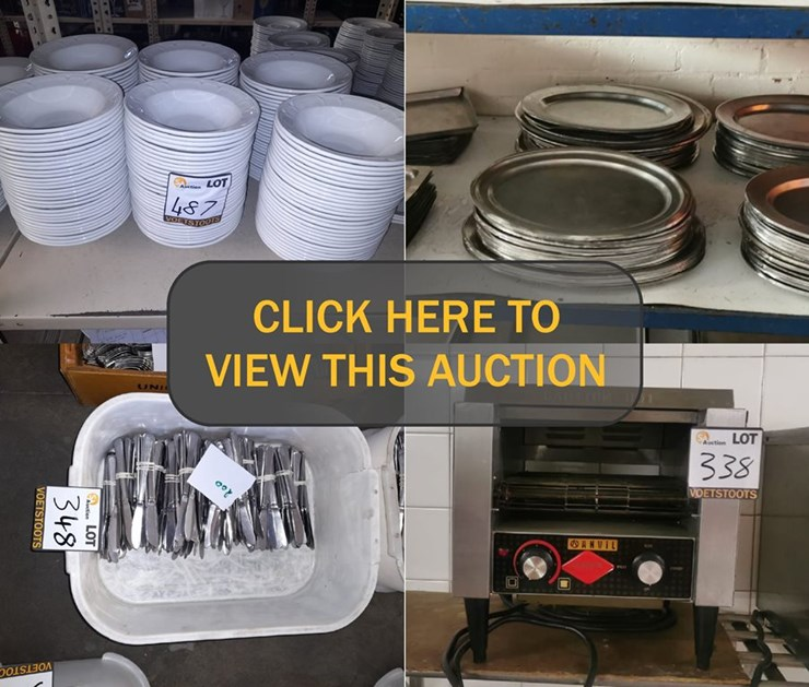 DAY 3 - MASSIVE CATERING DIVISION CLOSURE ONLINE AUCTION: UNION CATERERS