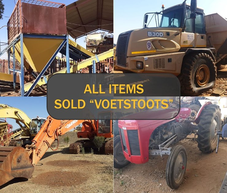 JUNE MINING, CONSTRUCTION & AGRICULTURAL ONLINE AUCTION INSTRUCTED BY DIAMOND ROOT MINING