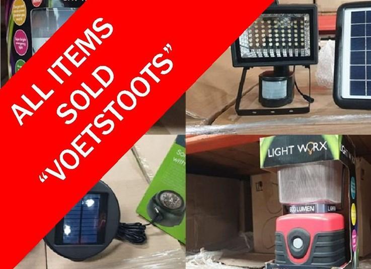 DAY 2 - LIQUIDATION ONLINE AUCTION: SPITSKI DISTRIBUTORS (PTY) LTD
