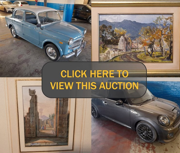 FINE ART, COLLECTABLE VEHICLES & MOVABLES ONLINE AUCTION