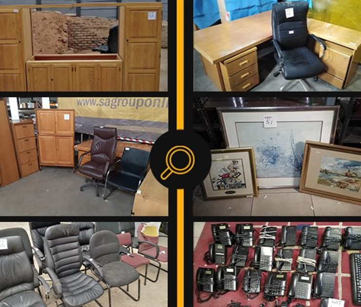 OFFICE FURNITURE & ACCESSORIES ONLINE DISPOSAL AUCTION