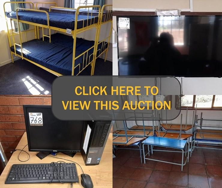DAY 4 - 6 DAY LIQUIDATION ONLINE AUCTION (BISHOP BAVIN SCHOOL) (MASTER REF: G577/2020)