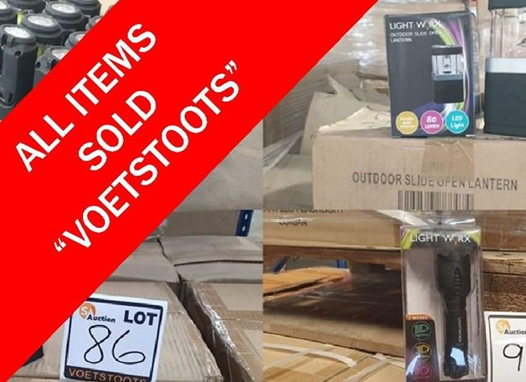 DAY 3 - LIQUIDATION ONLINE AUCTION: SPITSKI DISTRIBUTORS (PTY) LTD