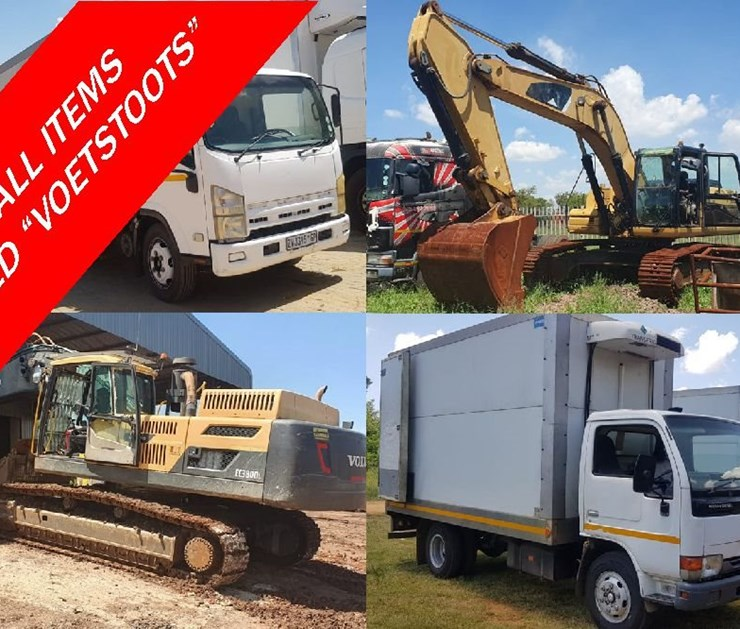FEBRUARY FINANCIAL YEAR END ONLINE AUCTION: MINING, CONSTRUCTION & TRANSPORT